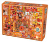 Rainbow Project: Orange - 1000pc Jigsaw Puzzle by Cobble Hill