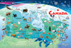 Canada Map - 35pc Tray Puzzle by Cobble Hill