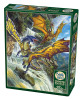 Waterfall Dragons - 1000pc Jigsaw Puzzle by Cobble Hill