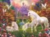 Castle Unicorns - 1000pc Jigsaw Puzzle By Sunsout