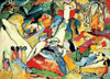 Kandinsky: Sketch for Composition II - 1000pc Jigsaw Puzzle by D-Toys