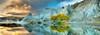Blue Lake - 1000pc Panoramic Jigsaw Puzzle By Heye