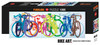 Colourful Row - 1000pc Panoramic Jigsaw Puzzle By Heye