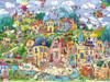 Berman: Happytown - 1500pc Jigsaw Puzzle By Heye