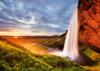 Seljalandsfoss Waterfall - 1000pc Jigsaw Puzzle By Heye