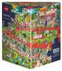 Tanck: Dog Show - 1000pc Jigsaw Puzzle By Heye