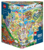 Lyon: Fun Park Trip - 1000pc Jigsaw Puzzle By Heye