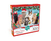 Meowy Christmas - 300pc Large Format Jigsaw Puzzle by Buffalo Games