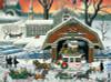 Charles Wysocki: 'Twas the Twilight Before Christmas - 1000pc Jigsaw Puzzle by Buffalo Games