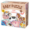 Farm Animals - Baby Jigsaw Puzzle by D-Toys