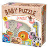 Jungle - 17pc Baby Jigsaw Puzzle by D-Toys