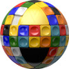 V-Sphere - Spherical Sliding Puzzle Cube by V-CUBE