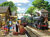 The Train to the Coast - 1000pc Jigsaw Puzzle By Sunsout
