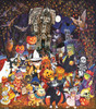 Cats and Dogs on Halloween - 300pc Jigsaw Puzzle By Sunsout