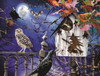 Halloween Birdhouse - 500pc Jigsaw Puzzle By Sunsout