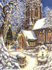Church in the Snow - 1000pc Jigsaw Puzzle By Sunsout
