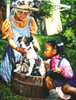 Washing the Dog - 300pc Jigsaw Puzzle By Sunsout