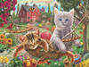Cats on the Farm - 300pc Jigsaw Puzzle By Sunsout