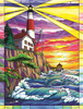Dolphin Bay Lighthouse - 300pc Jigsaw Puzzle By Sunsout