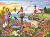 Garden by the Sea - 1000pc Jigsaw Puzzle By Sunsout
