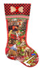 Puppy Stocking - 1000pc Jigsaw Puzzle By Sunsout