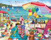 Day at the Beach - 1000pc Jigsaw Puzzle by Vermont Christmas Company