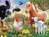Farm Animals - 300pc Jigsaw Puzzle by White Mountain