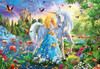 The Princess and the Unicorn - 1000pc Jigsaw Puzzle by Educa