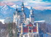 Neuschwanstein Castle in the Winter - 1000pc Jigsaw Puzzle by Eurographics