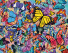 Butterfly Frenzy - 500pc Jigsaw Puzzle By Springbok