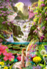 Educa Jigsaw Puzzles - Waterfall Fairies