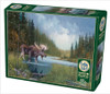 Moose Lake - 1000pc Jigsaw Puzzle By Cobble Hill