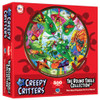 Creepy Critters - 500pc Round Jigsaw Puzzle by A Broader View