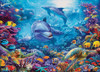 Dolphins at Play - 1000pc Jigsaw Puzzle by Cobble Hill