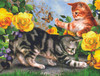 Kitten Play - 500pc Jigsaw Puzzle By Sunsout