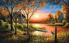 Glorious Sunset - 550pc Jigsaw Puzzle By Sunsout