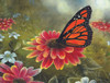 Monarch Butterfly - 500pc Jigsaw Puzzle By Sunsout