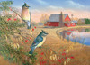 Cedar Waxwings - 1000pc Jigsaw Puzzle By Cobble Hill