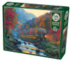 Smoky Train - 1000pc Jigsaw Puzzle By Cobble Hill