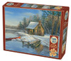 Winter Cabin - 275pc Easy Handling Jigsaw Puzzle by Cobble Hill