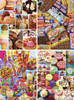Sweet Shoppe - 4 x 500pc Jigsaw Puzzle Assortment by Masterpieces