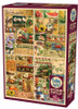 The Four Seasons - 2000pc Jigsaw Puzzle by Cobble Hill