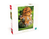 Earthpix:  Tiger Eyes - 500pc Jigsaw Puzzle by Buffalo Games