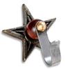 Cast Iron decorative star Tavern Puzzle hook