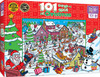 101 Things to Spot at Christmas - 101pc Jigsaw Puzzle By Masterpieces