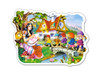 Snow White and the Seven Dwarfs - 15pc Contoured Jigsaw Puzzle by Castorland