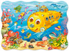 Happy Submarine - 30pc Shaped Puzzle by Castorland
