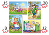 Little Red Riding Hood - 55pc Multipack Jigsaw Puzzle by Castorland