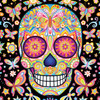 Sugar Skulls: Mariposa - 750pc Jigsaw Puzzle by Ceaco