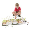 Puppy Party - 1000pc Panoramic Puzzle by Melissa & Doug